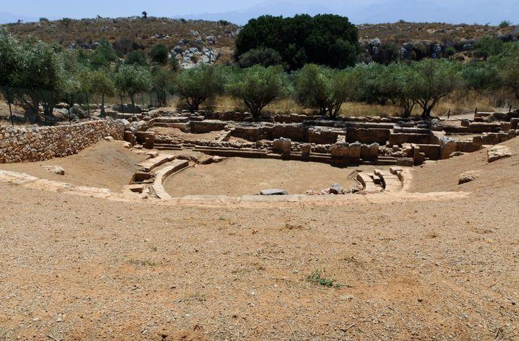 Αρχαίο Θέατρο Απτέρων - Ancient Aptera Theatre