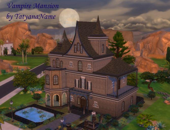 Vampire Mansion By Tatyananame At Tatyana Name Big