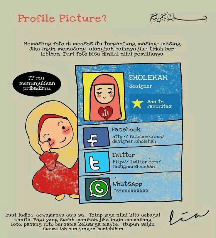 Profile picture in Islam