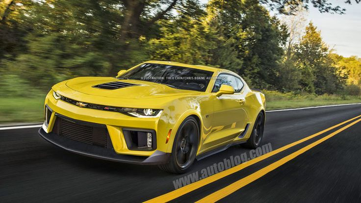 Our talented artist gave the new Chevy Camaro the Z28 treatment, with the aero bits we expect highlighting the new car's curves and angles.
