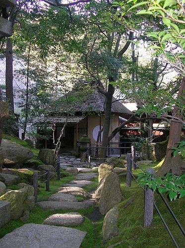 Kokeniwa and Cha-Shitsu #japan #okayama #kurashiki