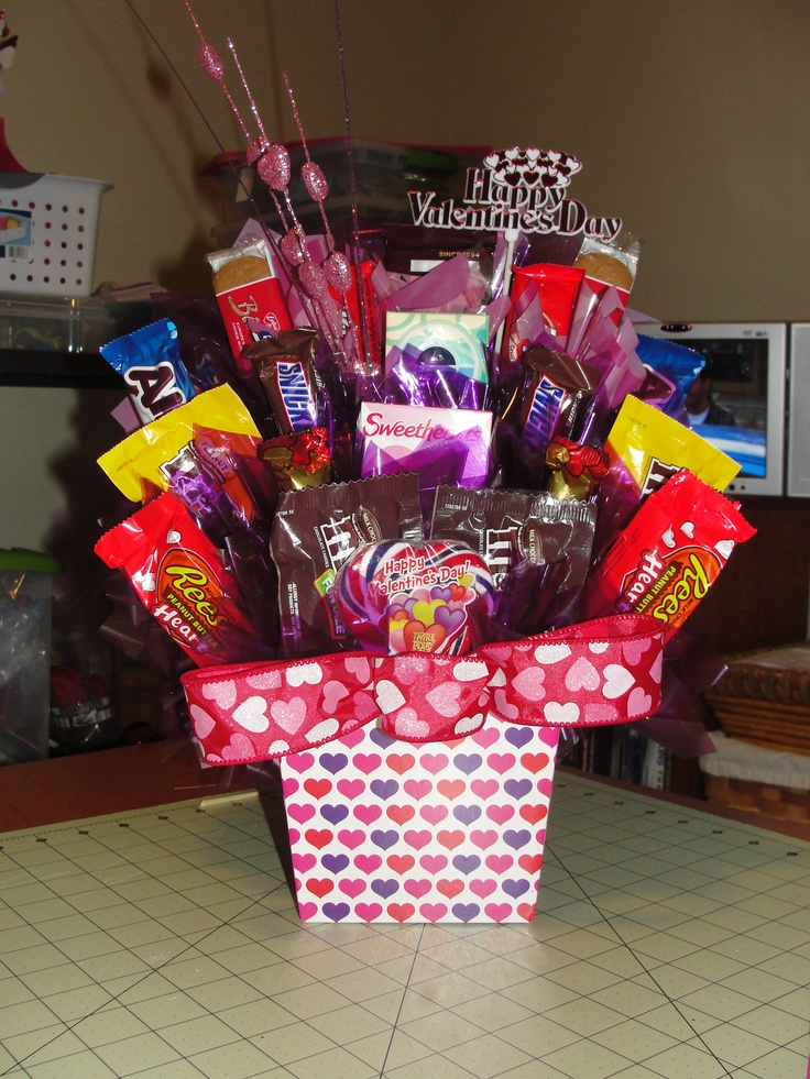 Valentines Bouquets  Candy bouquet ideas  Candy Bouquet