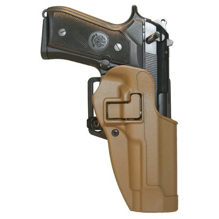 Blackhawk Serpa CQC holster. http://www.blackhawk-holsters.com/ http://www.blackhawk-holsters.com/