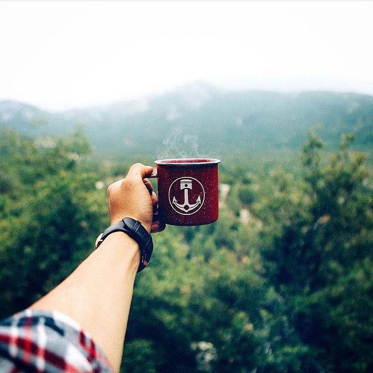 Always a traveling necessity, the Iron and Resin camp mug. #InR #FreedomRiders #ironandresin