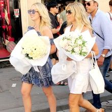 Tiffany Trump and Marla Maples Vacation in Italy: Pics