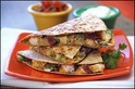 Healthy swap for a quesadilla! Hungry Girl always has great recipe swaps!