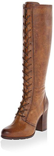 Frye Women's Parker Tall Lace Up Boot, Tan, 7 M US ** This is an Amazon Associate's Pin. You can get more details by clicking on the image.