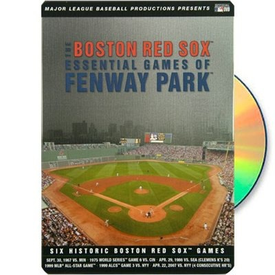 Boston Red Sox Essential Games of Fenway Park 6-Disc DVD Set
