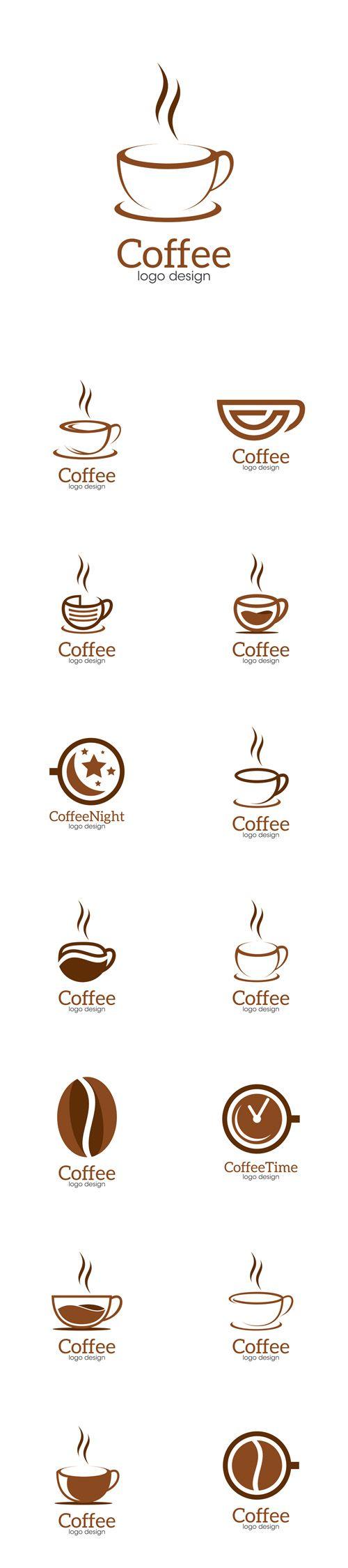 Vector Coffee Creative Concept Logo Design Template