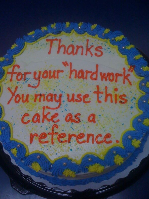 co-worker's going away cake - Imgur...I am going to give this to my team lmao!!!