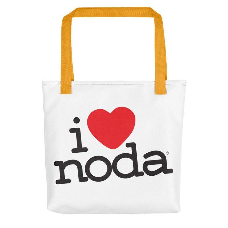 I Love NoDa, Charlotte North Carolina, Tote bag