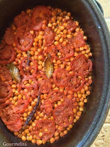 Gourmelita: Ρεβύθια Μεθυσμένα