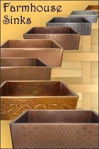 Custom Copper Range Hoods, Farmhouse Sinks - American Made Lighting & Metal Products