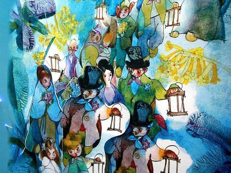Broučci - ilustrace ke knize