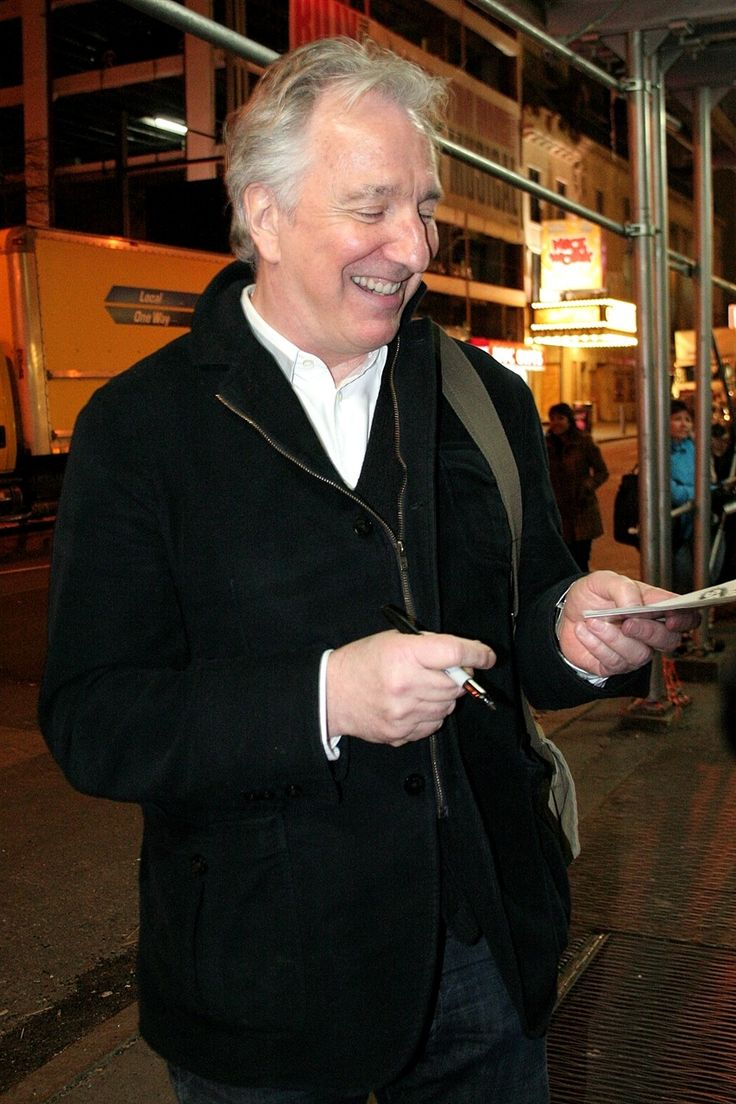 3489 best Alan Rickman images on Pinterest | Alan rickman, Severus ...