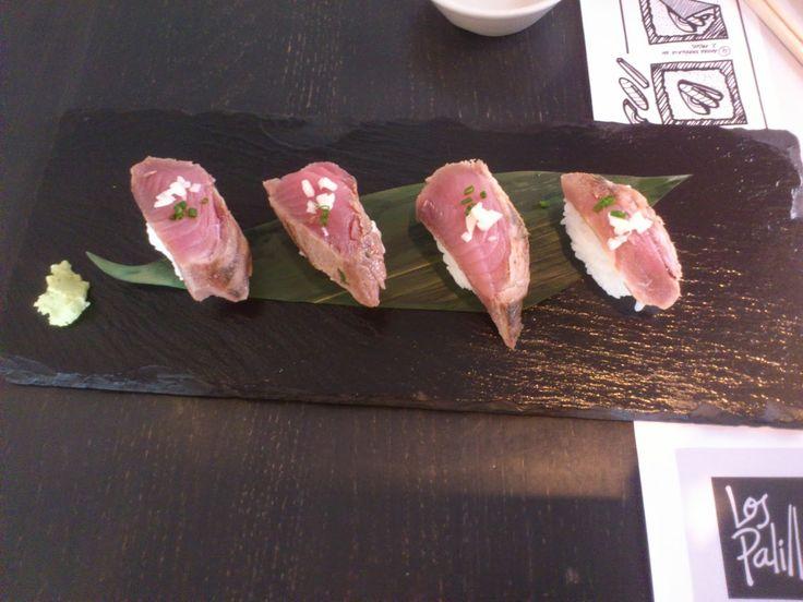 Cuñao, qué has comido hoy? Los palillos jamon sushi bar