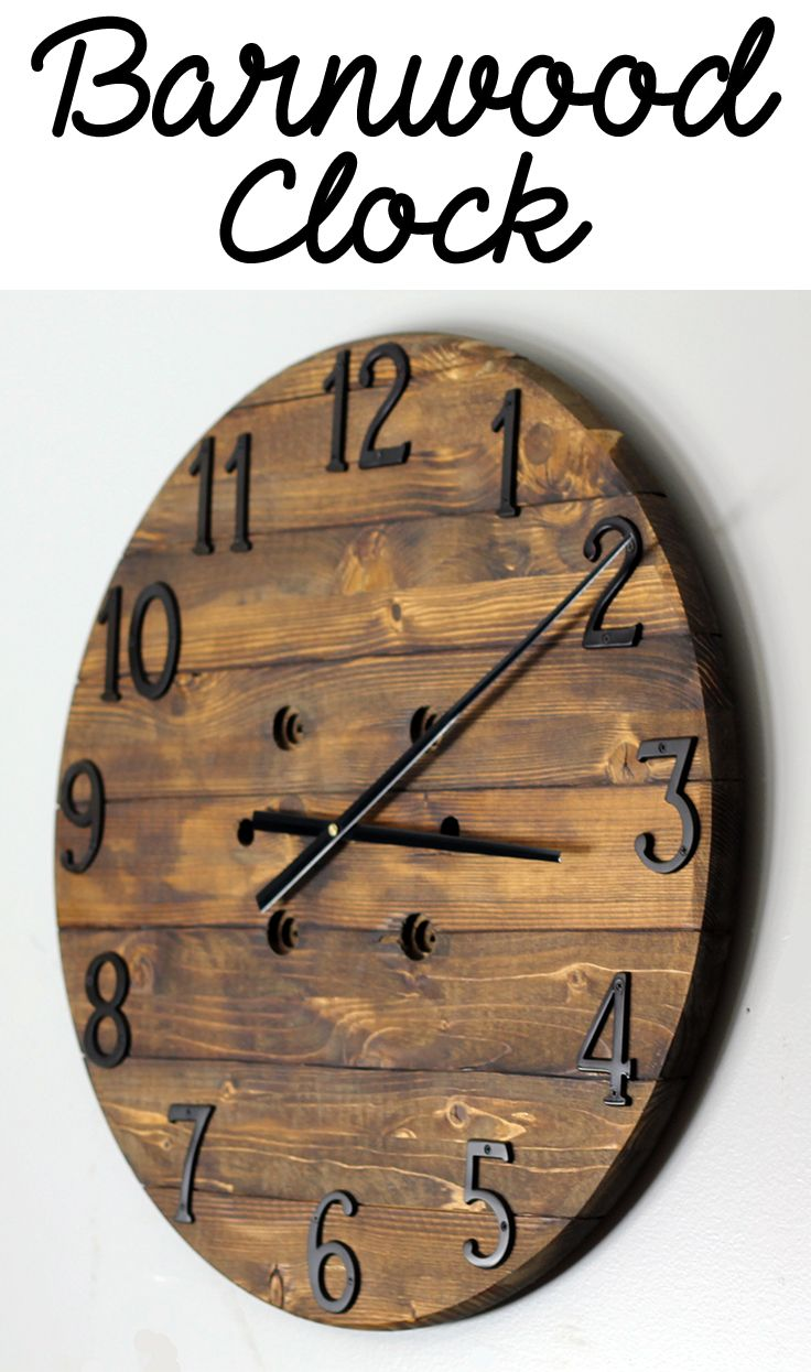 Am americana country wall clocks - Rustic Clock Hanging Clock Wood Clock Barn Wood Clock Farmhouse Decor