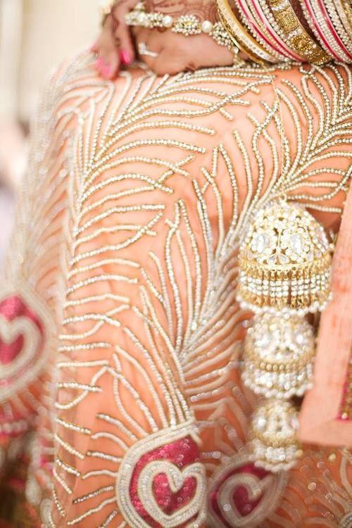 love the traditional Punjabi bridal bangles!