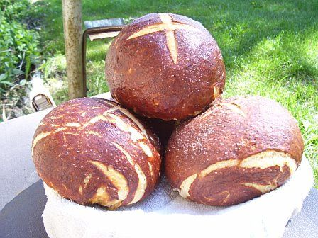 Final Pretzel Bread by twobites, via Flickr