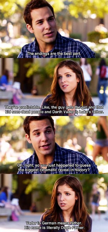 So good! Haha! i'm gonna need a pitch perfect board soon. i love that movie. it's INCREDIBLY AWESOME