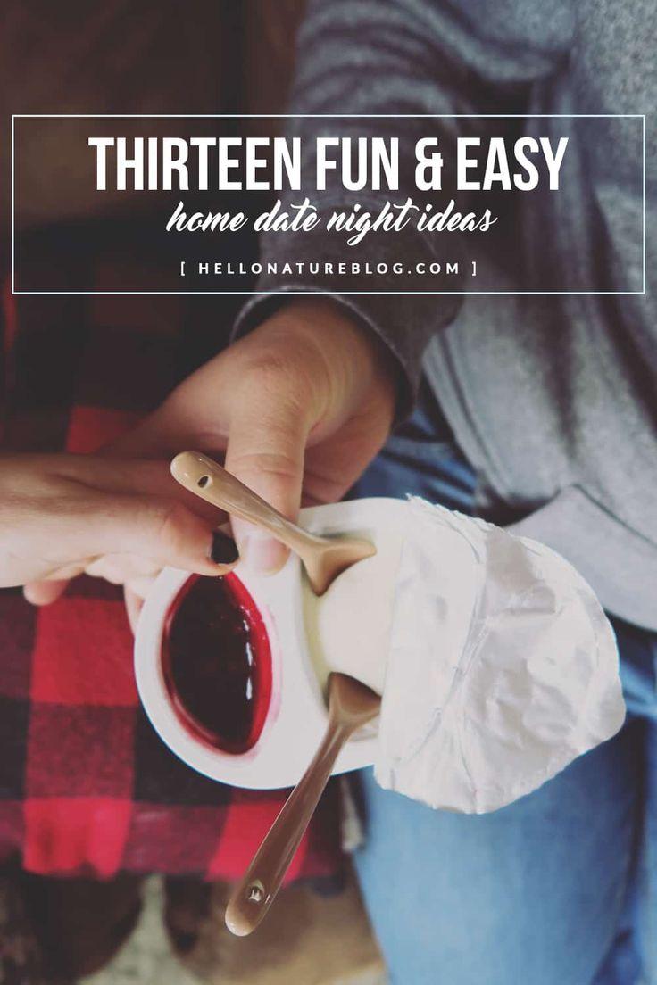 13 Fun Home Date Night Ideas