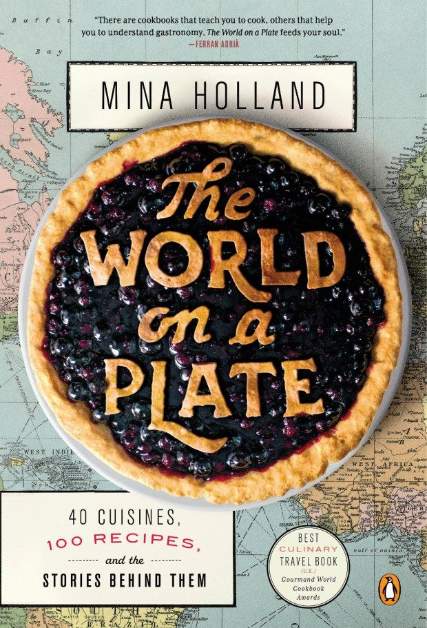 World on a Plate by Mina Holland; design by Nick Misani (Penguin / May 2015)