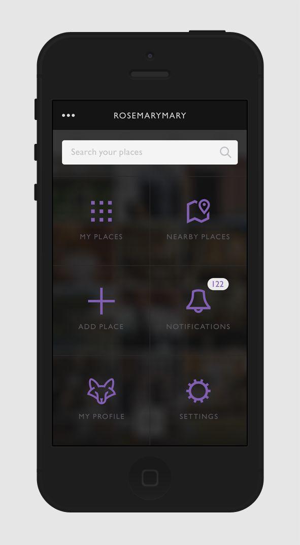 Mobile App design by Regina Casaleggio