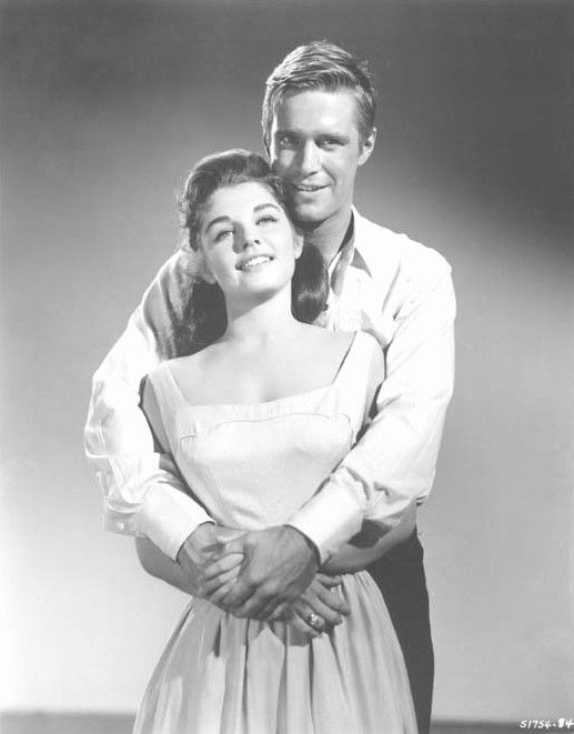 George Peppard and Luana Patten - Home From the Hill
