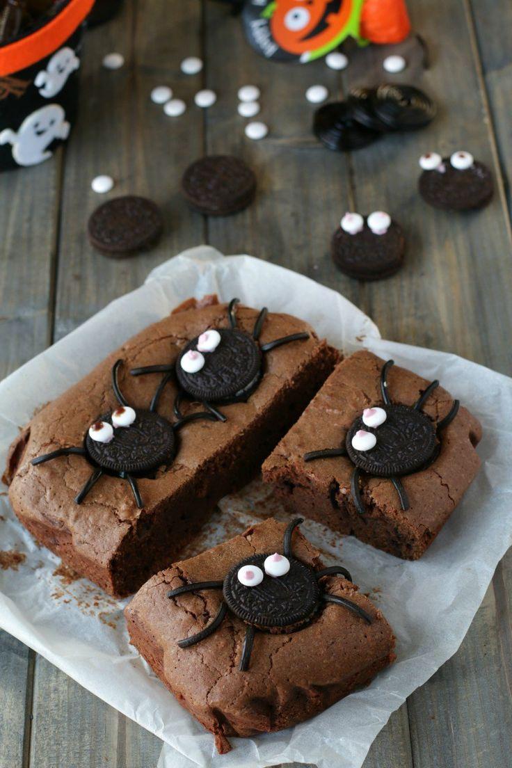 Brownies oreo (per halloween)