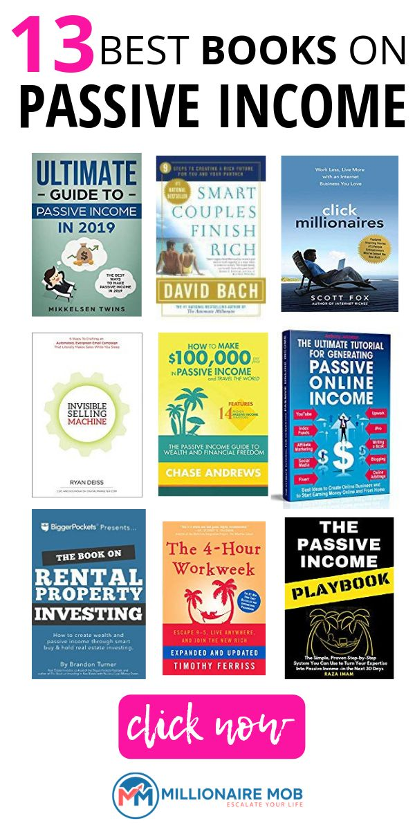 14 Best Books on Passive Income: Advance Your Earnings Knowledge