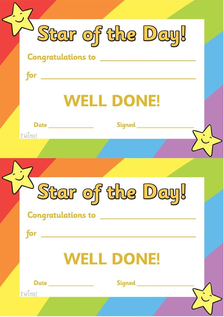 Twinkl Resources >> Star of the Day A4 Poster  >> Classroom printables for Pre-School, Kindergarten, Elementary School and beyond! Awards, Certificates, Posters, Signs and Labels