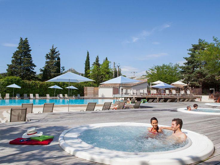 Camping Le Soleil Vivarais #Camping #LeSoleilVivarais #Sampzon #Ardèche  #Jacuzzi #Vacances