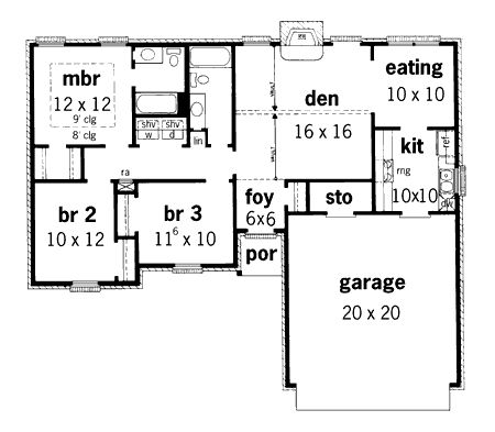 - 8343DC   1st Floor Master Suite, PDF, Traditional   Architectural Designs