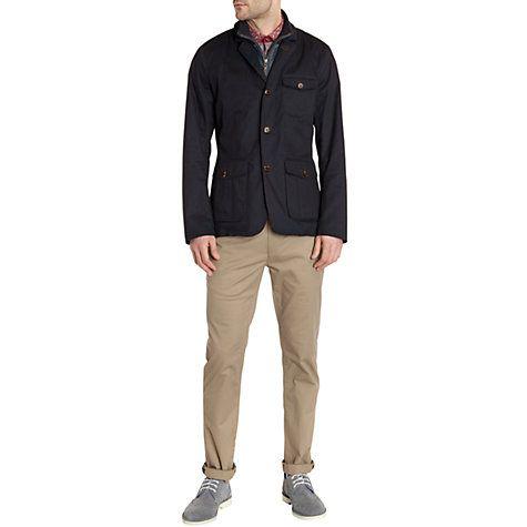 Buy Ted Baker Greleaf Coat, Navy Online at johnlewis.com