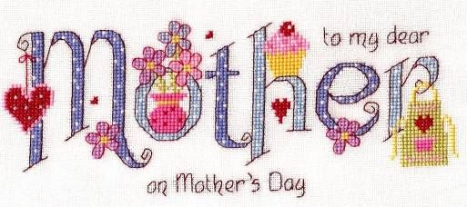 Mother Cross Stitch Kit - £18.95 on Past Impressions | by Nia