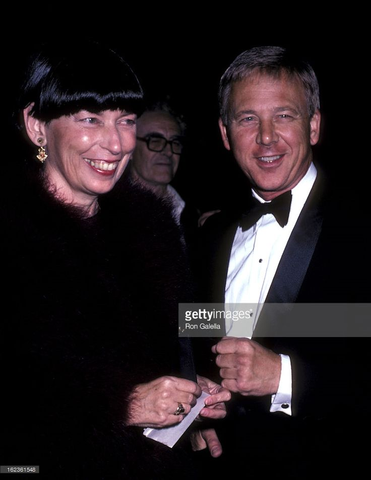 William Christopher and wife Barbara O'Conner attend ABC TV Affiliates Dinner on October 10, 1985 at the Beverly Wilshire Hotel in Beverly Hills, California.