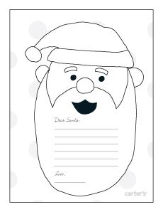 34 best letters to from santa images on pinterest for Dear santa template kindergarten letter