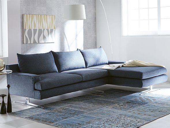 RELAX FORM RADERNO COUCH SOFA #modern #stylish #blue #interior #sofa #ideas #inspiration #living