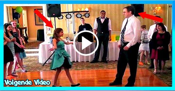 Deze vader en dochter dans is echt prachtig!De vader en dochter dans is iets waar