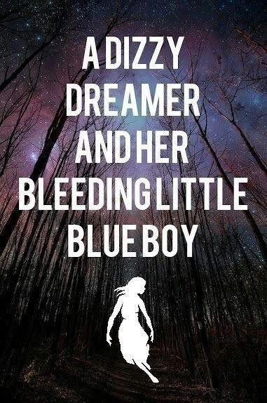 """""""This dizzy dreamer and her bleeding little blue boy. Licking your fingers like you're done and, You've decided there is so much more than me.""""- Caraphernelia PTV"""