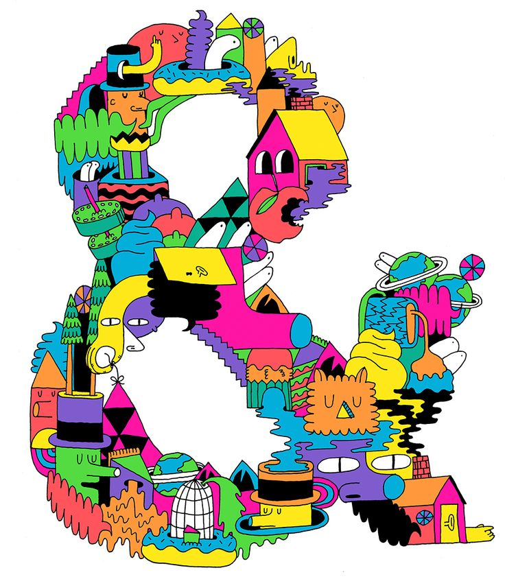Ampersand by Mike Perry — Agent Pekka