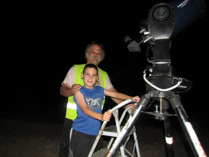 Kids are really excited by seeing deep sky objects up close.