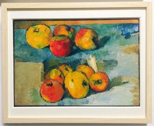 ポール・セザンヌ 「リンゴの静物」 静物画 - ヤフオク!