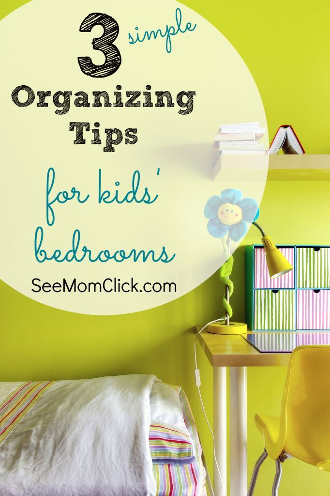Why do kids collect so much stuff? It can be a real challenge to sort through it and clean up it. I have some simple organizing tips for kids' bedrooms to help restore some semblance of order and make your children's rooms comfortable (and livable!) again.
