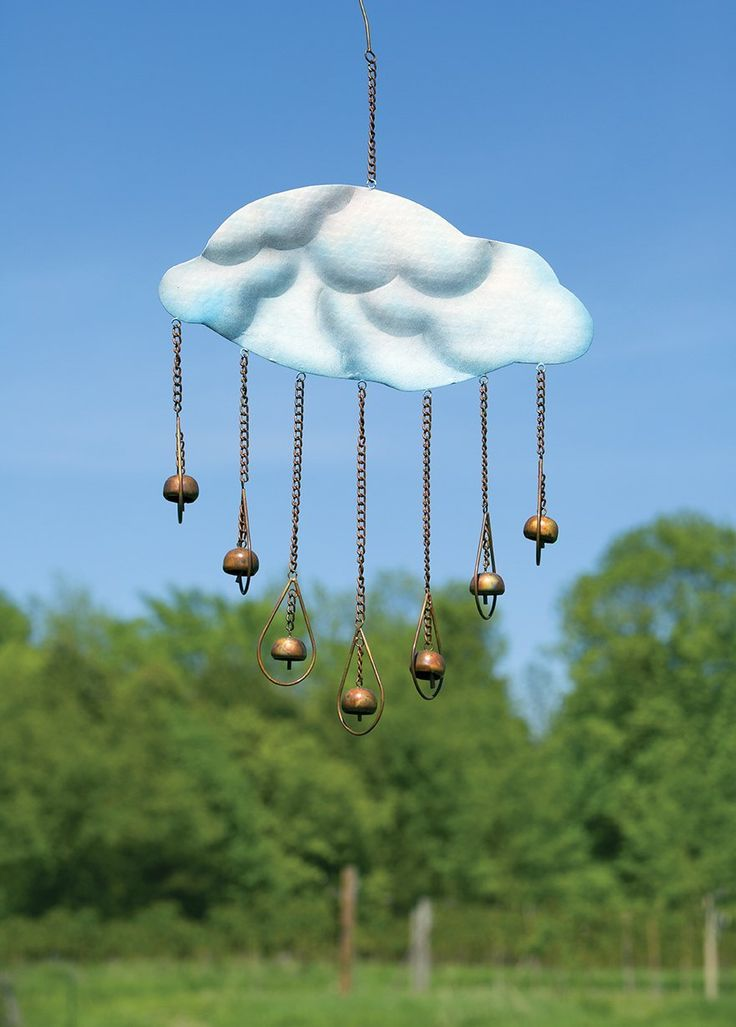 Clouds and Drops Garden Wind Chime
