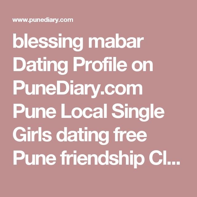 Singles groups in Pune