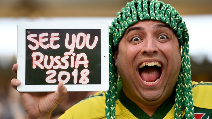RIO DE JANEIRO, BRAZIL - JULY 13: A fan poses during the 2014 FIFA World Cup Brazil Final match between Germany and Argentina at Maracana on...