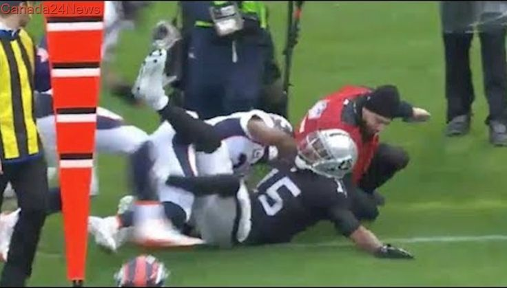 Michael Crabtree vs. Aqib Talib Fight   Broncos vs. Raiders   NFL