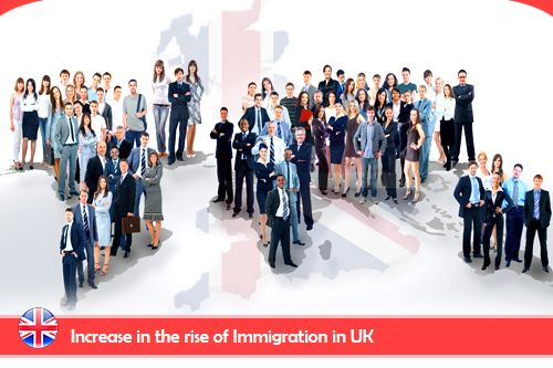 UK Immigrants Increased in Record Numbers