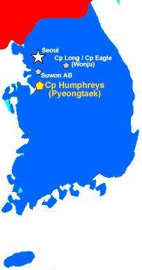 south korean us army base humphreys
